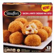 Stouffer's Bacon & White Cheddar Mac Bites