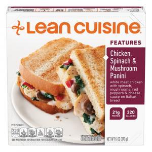 Lean Cuisine Chicken Spinach & Mushroom Panini
