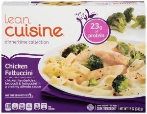 Lean Cuisine Dinnertime Selects Chicken Fettucini & Broccoli