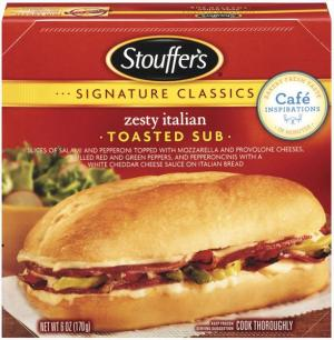 Stouffer's Zesty Italian Sub