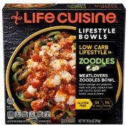 Life Cuisine Meatlovers Zoodles Bowl
