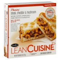 Lean Cuisine Cafe Classics Steak Cheddar & Mushroom Panini