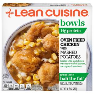 Lean Cuisine Oven Fried Chicken & Mashed Potatoes Bowl