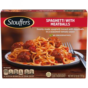 Stouffer's Spaghetti With Meatballs