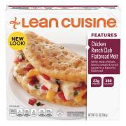 Lean Cuisine Chicken Ranch Club Flatbread Melt