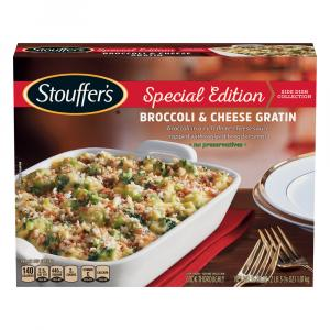 Stouffer's Special Edition Broccoli & Cheese Gratin