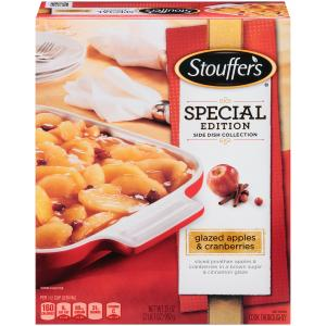 Stouffer's Special Edition Glazed Apples and Cranberries