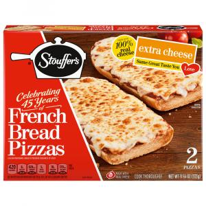 Stouffer's French Bread Extra Cheese Pizza
