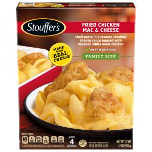 Stouffer's Fried Chicken Macaroni & Cheese Large Family Size