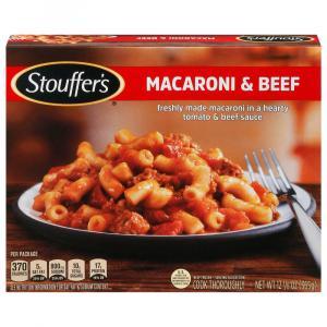 Stouffer's Macaroni & Beef Side Dish