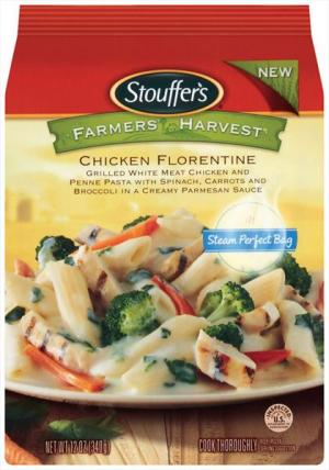 Stouffer's Farmer's Harvest Chicken Florentine