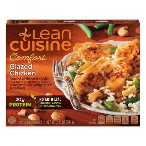 Lean Cuisine Cafe Classics Glazed Chicken w/Vegetable & Rice