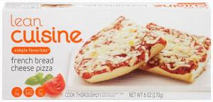 Lean Cuisine One Dish Favorite French Bread Cheese Pizza