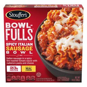 Stouffer's Bowl-Fulls Spicy Italian Sausage Pasta