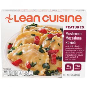 Lean Cuisine Culinary Collection Mushroom Mezzaluna Ravioli
