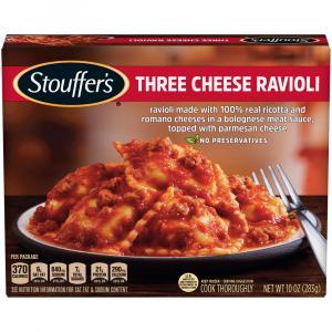 Stouffer's Three Cheese Ravioli