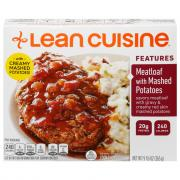 Lean Cuisine Meatloaf w/Mashed Potatoes