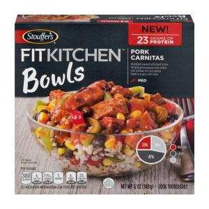 Stouffer's Fit Kitchen Pork Carnitas Bowl