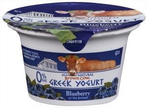 Brown Cow Fat Free Blueberry Greek Yogurt