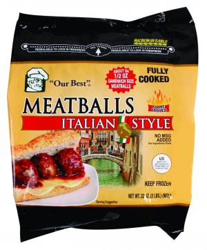 Our Best Italian Style Meatballs