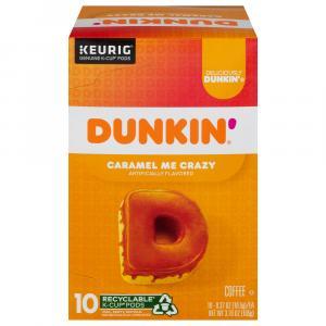 Dunkin' Donuts Caramel Me Crazy K-Cups