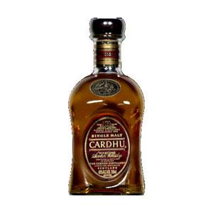 Cardhu 12 Year Old Scotch