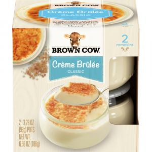 Brown Cow Classic Creme Brulee