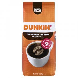 Dunkin' Donuts Original Blend Whole Bean Coffee