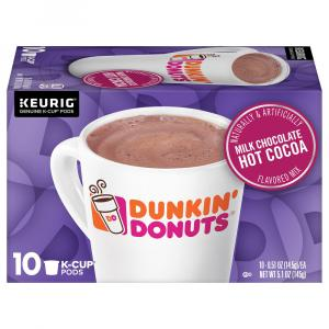Dunkin' Donuts Milk Chocolate Hot Cocoa K-Cup Pods