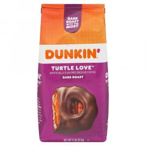 Dunkin' Turtle Love Dark Roast Ground Coffee