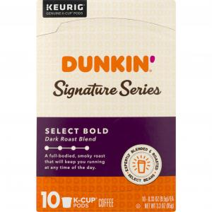 Dunkin' Signature Series Select Bold K-Cup Pods