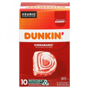 Dunkin' Donuts Cinnamon Coffee Roll K-Cups