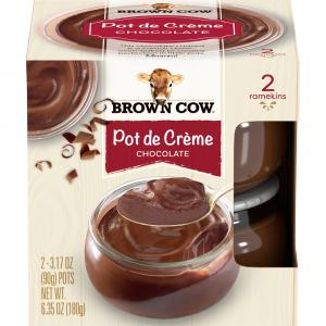 Brown Cow Pot De Creme Chocolate Custard