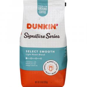Dunkin' Signature Series Select Smooth Premium Ground Coffee