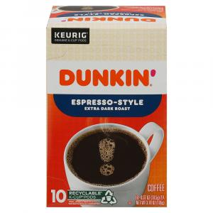 Dunkin' Espresso-Style K-Cups