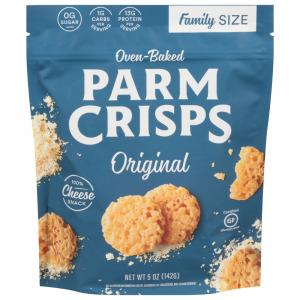 Parm Crisps Original Cheese Snack Family Size