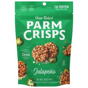 Parm Crisps Jalapeno Cheese Snack