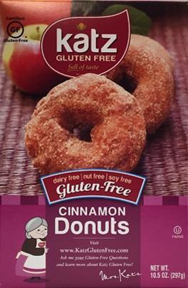 Katz Cinnamon Donuts