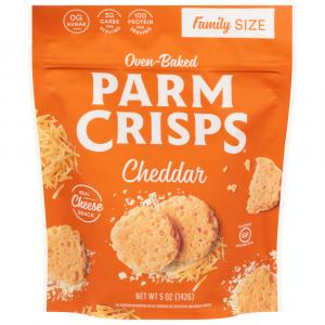 Parm Crisps Cheddar Cheese Snack Family Size