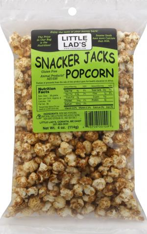 Little Lad's Snacker Jacks Popcorn