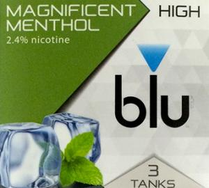 Blu Plus Magnificent Menthol Flavor Tank