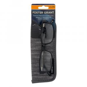 Brandon Reading Glasses with Case 1.75