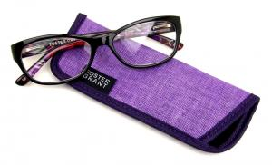 Watercolor Reading Glasses with Case 1.25