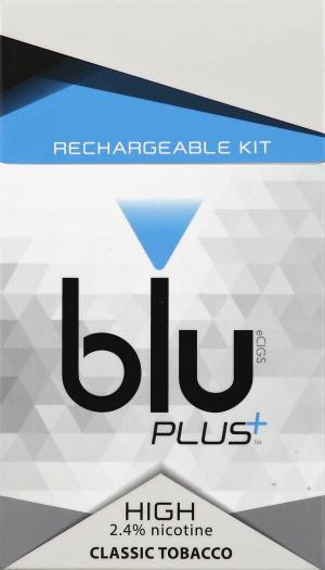 Blu Plus Classic Tobacco Rechargeable Kit