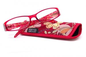 Ashley Reading Glasses with Case 2.50