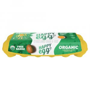 The Happy Egg Company Organic Free Range Large Brown Eggs
