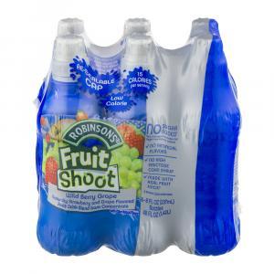 Robinson Fruit Shoot No Sugar Added Grape Fruit Juice