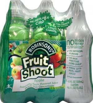 Robinson Fruit Shoot No Sugar Added Apple Fruit Juice