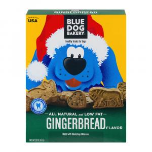 Blue Dog Bakery Gingerbread Treats