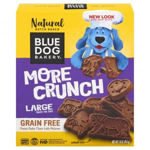 Blue Dog Grain Free Peanut Butter Molasses Dog Biscuits